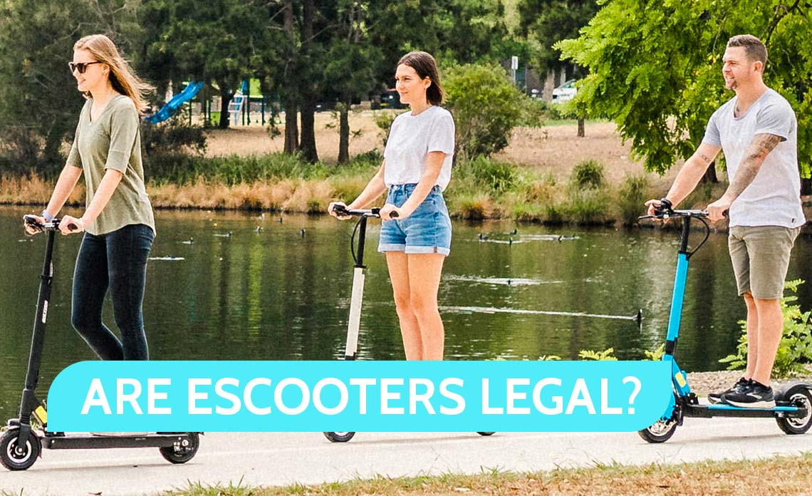 Real Talk; Are eScooters or Electric Scooters Legal?